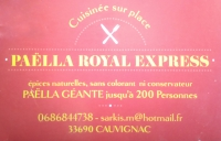 Logo Paëlla royal express